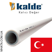 Труба Kalde Shtabi Super Pipe (незачистная) d50 PN25, Турция